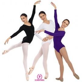 Costum balet maneca lunga
